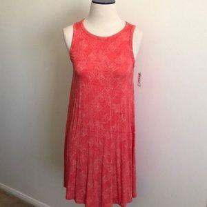 Old navy sleeveless print swing dress